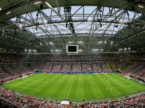 На стадионе Шальке обвалилась крыша