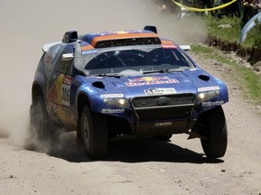 Дакар-2010: Аль-Аттия победил на 2-ом этапе и возглавил общий зачет легковых авто