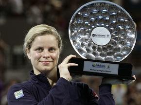 Ким Клийстерс штурмует рейтинг WTA, украинки - на своих местах