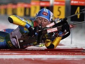 Оберхоф: Вита Семеренко финишировала пятой в масс-старте