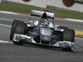 Источник: Mercedes презентует новый болид 25 января