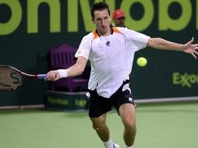 Доха ATP: Стаховский прекращает борьбу в одиночном разряде
