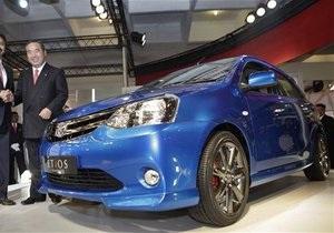 В Индии представили самую доступную модель Toyota