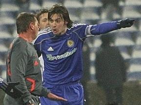 Милевский признан лучшим игроком Украины 2009 года