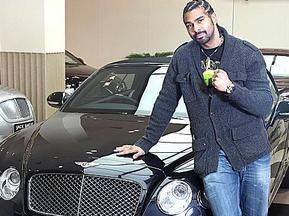 Хэй хочет украсить свой Bentley лицами Валуева и Кличко