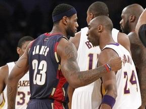 NBA: ЛеБрон побеждает Коби в Лос-Анджелесе