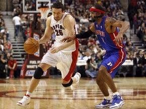 NBA: Торонто вновь побеждает Детройт