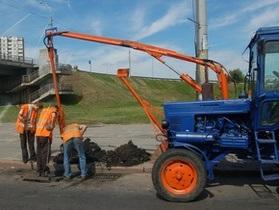 Укравтодор за год построил восемь километров дорог