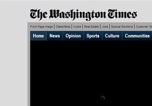 The Washington Times сокращает количество выходов