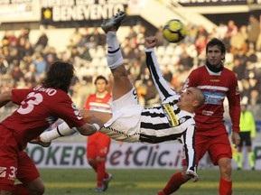 Серия А: Интер минимально победил Лацио, Ювентус проиграл Катании