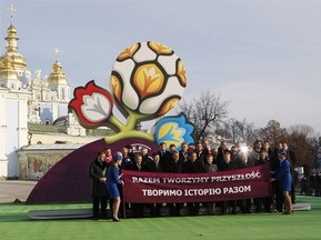 Творець логотипу Євро-2012 раніше на карті не бачив України