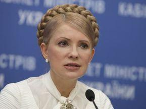 Тимошенко надеется, что Ющенко отзовет вето на закон о финансировании Евро-2012