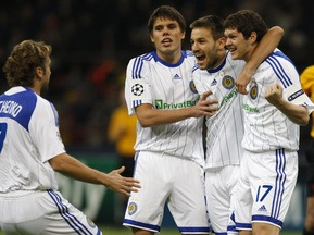 Динамо зіграє проти Барселони в білій формі