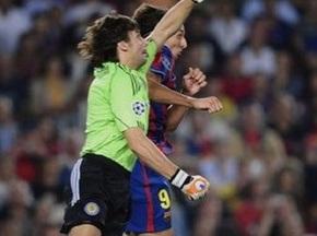 Сэйв Шовковского признан лучшим игровым моментов 5-го тура Лиги Чемпионов