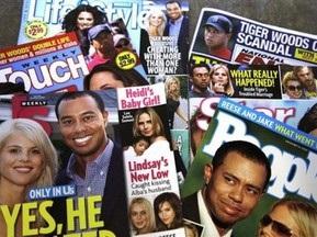 ЗМІ: Тайгер Вудс утримував сімох коханок