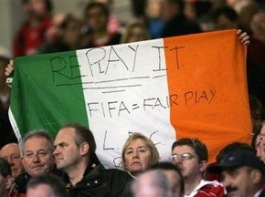 Ірландія просить включити її до числа учасників ЧС-2010