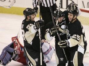 NHL: Пингвины разгромили Рейнджеров