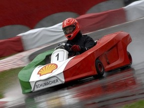 Шумахер выиграл гонку во Флорианополисе