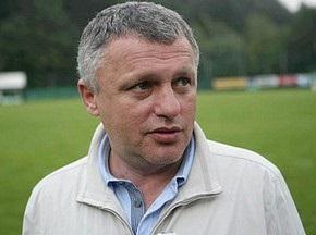 Суркіс: Газзаєв не очолить збірну України