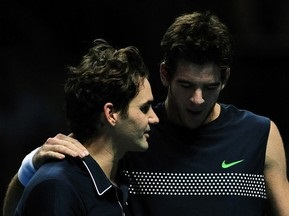 Федерер: Дель Потро поднял свою игру на новый уровень