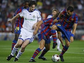 Завтра розпочнеться продаж квитків на матч Динамо - Барселона