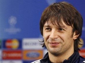 Шовковський визнаний найкращим гравцем матчу з Рубіном