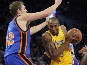 NBA: Лейкерс были сильнее Нью-Йорка