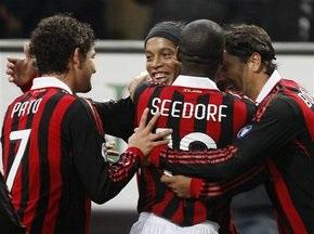 Серия А: Милан добывает непростую победу над Кальяри, Интер побеждает Болонью