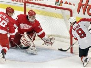 NHL: Красные Крылья уступают Пантерам