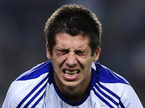 Динамо потеряло Хачериди на несколько недель