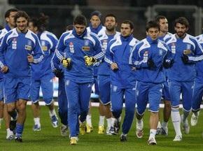 Збірну Греції приїдуть підтримати 120 уболівальників