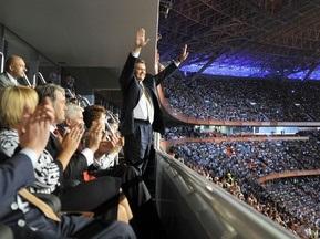 Янукович та Ющенко відвідають матч Україна - Греція