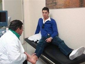 Криштиано Роналдо вышел на тренировку