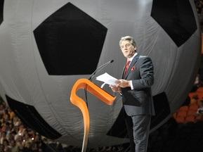 Ющенко посетит матч Украина - Греция