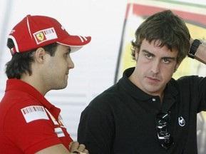 Президент Ferrari: Фелипе и Фернандо - лучший дуэт в Формуле-1