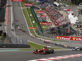 Збитки Гран-прі Бельгії склали 5 млн євро
