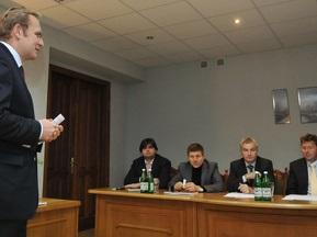 Руководство УЕФА посетило Львов