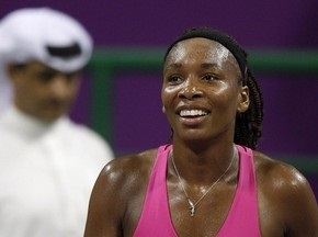 Венус Уильямс второй год подряд вышла в финал итогового турнира