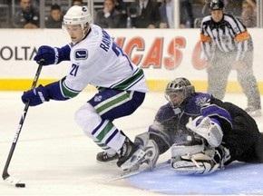NHL: Красные Крылья уступают в Эдмонтоне
