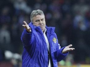 Хіддінку запропонували тренувати збірну Росії і після 2010 року