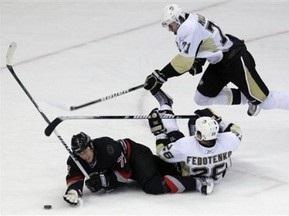 NHL: Федотенко допоміг Пінгвінам обіграти Блюзменів