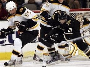 NHL: Бостон громит Даллас