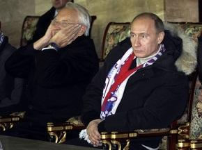 Путін: Гра російської збірної не відповідає очікуванням уболівальників