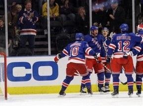 NHL: Рейнджеры одержали шестую победу подряд