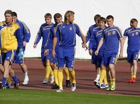 Сборная Украины отказалась от предматчевой тренировки