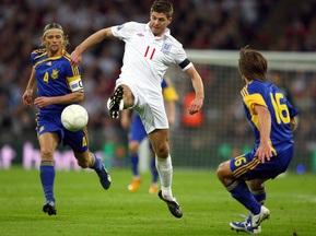 Матч Украина - Англия покажут телеканалы Украина и Футбол