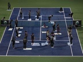 Теннис: Турнир в Токио может быть прерван из-за тайфуна
