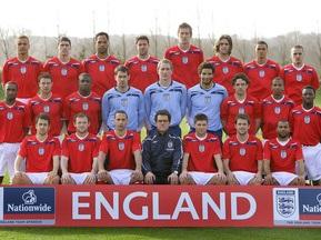 Оголошено склад збірної Англії на матч проти України