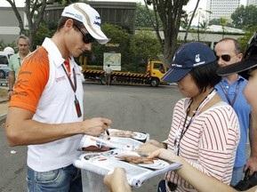 Гран-при Японии: Сутил был лучшим на второй практике