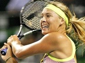 Шарапова вышла в полуфинал Токио WTA